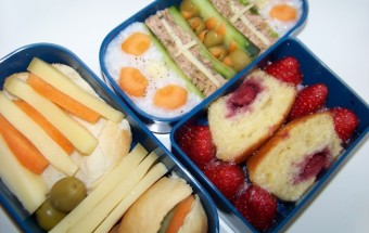 Bento 7 : muffin aux fruits rouges
