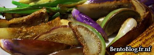 Les légumes printaniers cuits au wok