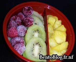 Bento #71 : dessert fruité