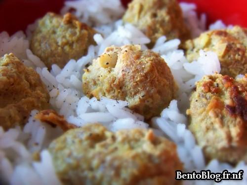 Boulette de porc au curry
