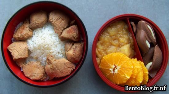 Bento #81 : poulet au teriyaiki, deuxième !