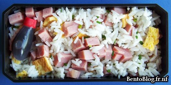 Bento #86 : un bento réconfortant riz cantonais