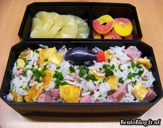 Bento #87 : encore du riz cantonais