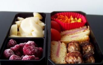 Bento #91 : boulettes de porc teriyaki