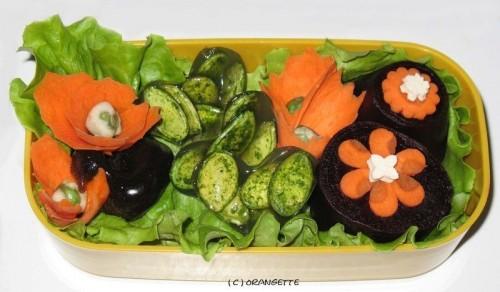 fleurs d'orangette bento