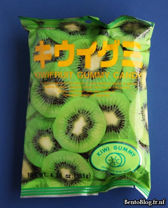 bento bonbons au kiwi japonais