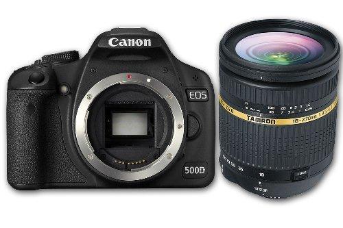 appareil photo reflex et lentille