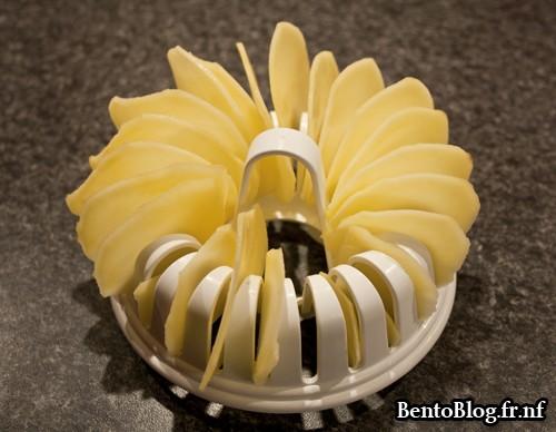 Faire ses chips maison avec le chips maker bento blog for Chips carotte micro onde