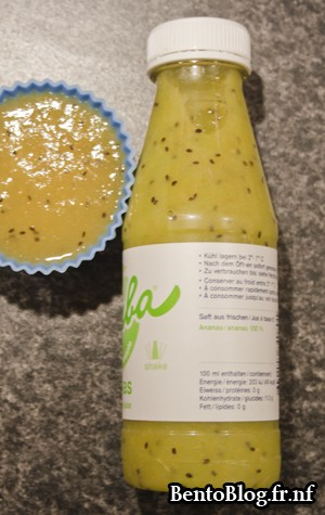 smoothie et gelée de fruits