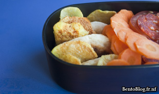 bento spécial chips