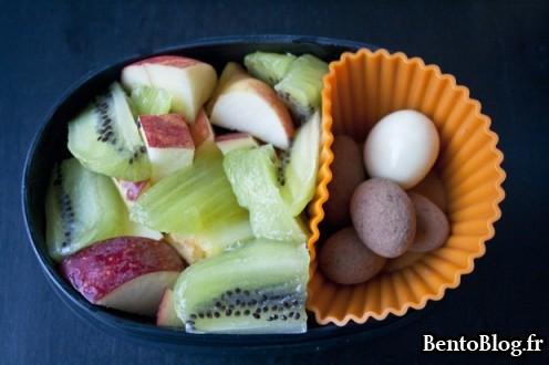 Bento 178 salade riz et thon chocolat