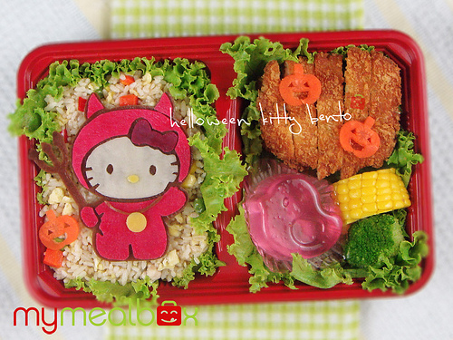 hallowwen bento hello kitty mymealbox