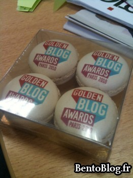macarons Golden Blog Awards