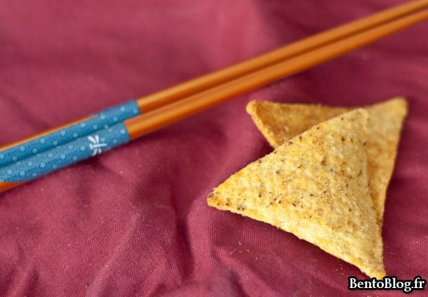 bento guacamole chips