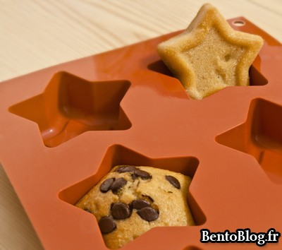 muffin aux pépites de chocolat