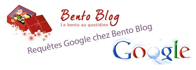 Requêtes Google chez Bento Blog