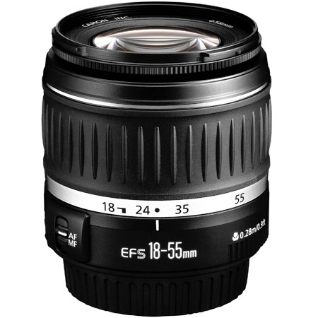 Canon objectif zoom 18 55 mm