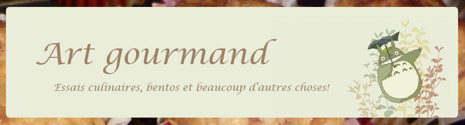 Blog art gourmand
