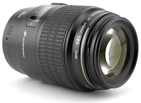 Objectif macro canon photographie