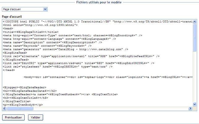 Installer google analytics canalblog