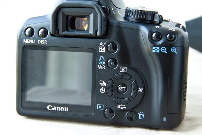 Canon 1000D test