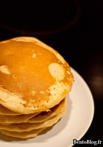 Pancakes simples et moelleux