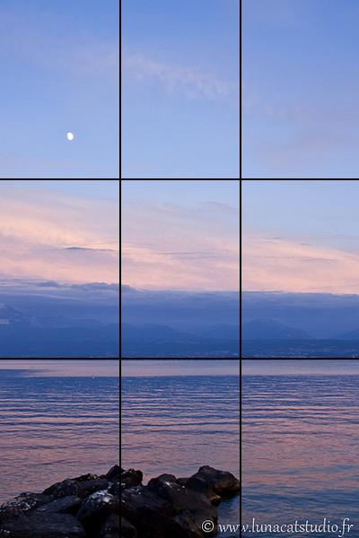 Regle des tiers photographie