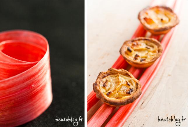 tarte pomme rhubarbe recette