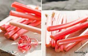 Recette : tarte et tartelettes fondantes pomme rhubarbe