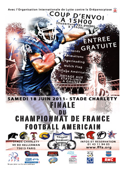 Finale Football américain Elite Paris