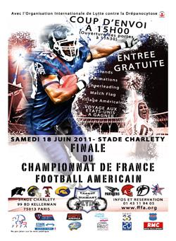 Finale Football américain Elite Paris
