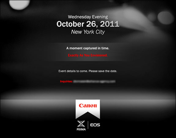 Canon Photographie Octobre 2011