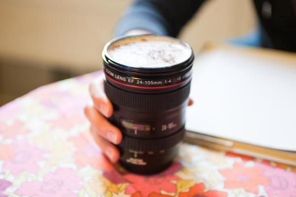 Canon mug objectif