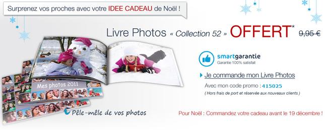 Livre photo gratuit Noël