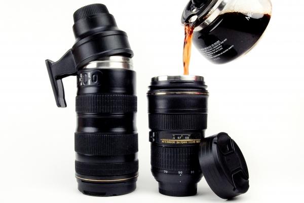 Nikon mug objectif