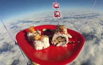 Des sushis dans l'espace !