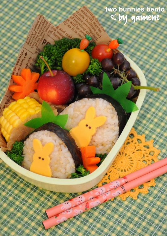 Bento de Pâques : inspiration en photo