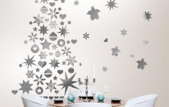 sapin de no l original sticker mural bento blog. Black Bedroom Furniture Sets. Home Design Ideas