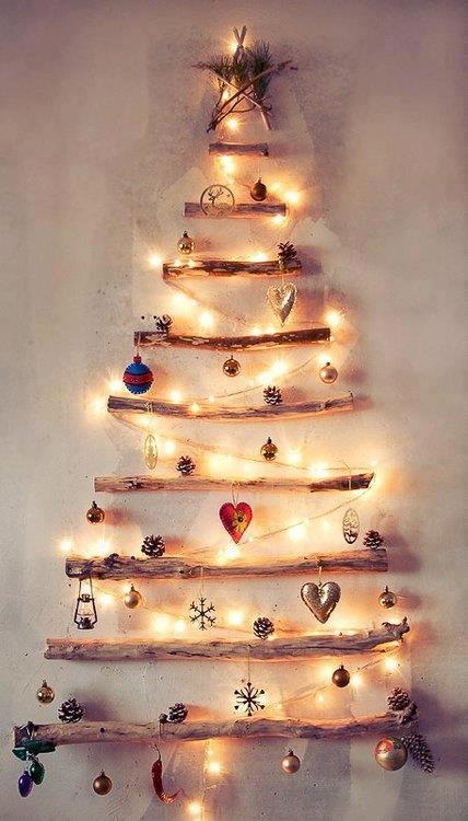 Sapin de Noel guirlande pour sapin de noel : Sapins de Noël originaux ! - Bento Blog