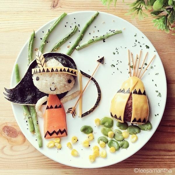 art nourriture